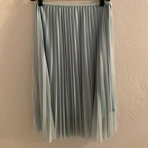 New Without Tags Mint Green Flowy Skirt!
